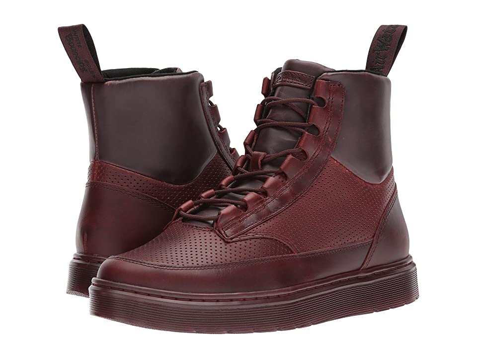 Dr. Martens Kamar Sneaker Boot (Oxblood Brando/Oxblood PU/Oxblood Perf Brando) Men