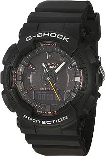 G-Shock S-Series Step Tracker Black Watch GMAS130VC-1A