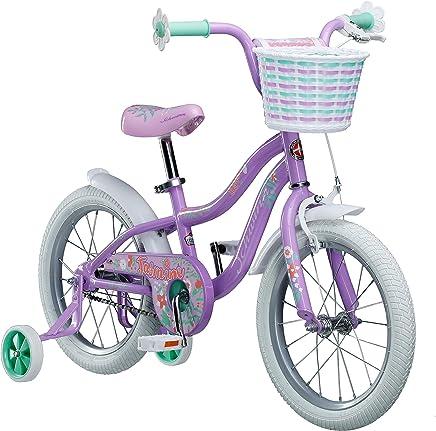 Schwinn Jasmine Bicicleta para niña con Ruedas de Entrenamiento, Ruedas de 16 Pulgadas, Varios Colores