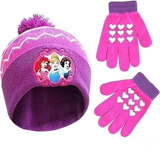 مجموعه آب و هوای سرد کلاه و دستکش شخصیت شاهزاده خانم کوچک دیزنی