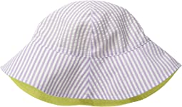 San Diego Hat Company Kids - CTK3422 Reversible Seersucker Bucket w/ Chin Strap (Infant)