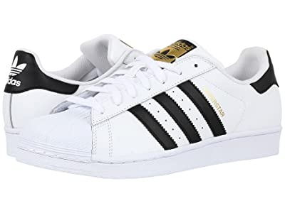 adidas Originals Superstar Foundation (Footwear White/Core Black/Footwear White) Men