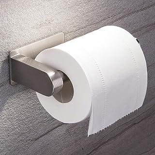 ZUNTO Porte Papier Toilette Auto-adhésif de sans Forage Support de Papier Mural Titulaire de Papier,Porte Rouleau Papier W...