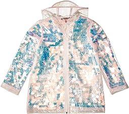 Sequin Transparent Raincoat (Little Kids/Big Kids)
