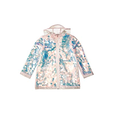 Urban Republic Kids Sequin Transparent Raincoat (Little Kids/Big Kids) (Pink) Girl