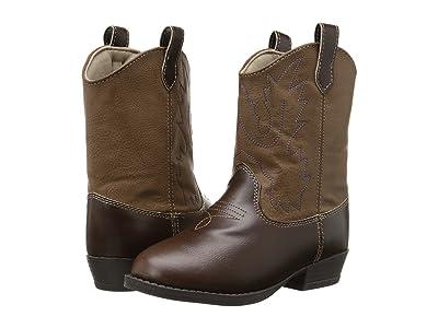 Baby Deer Western Boot (Toddler/Little Kid) (Brown) Cowboy Boots