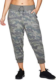 RBX Active Women's Plus Size Workout Capri Jogger Sweatpants