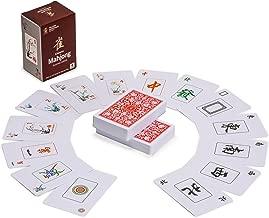 Yellow Mountain Imports Chinese Mahjong (Mah Jong, Mahjongg, Mah-Jongg, Mah Jongg, Majiang) Playing Cards, 144 Cards
