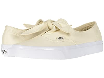 Vans Authentic Knotted ((Canvas) Marshmallow) Skate Shoes