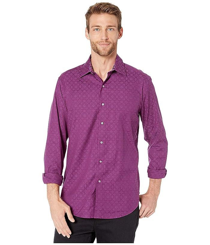 Robert Graham Mens Fulk Long Sleeve Stretch Dress Shirt