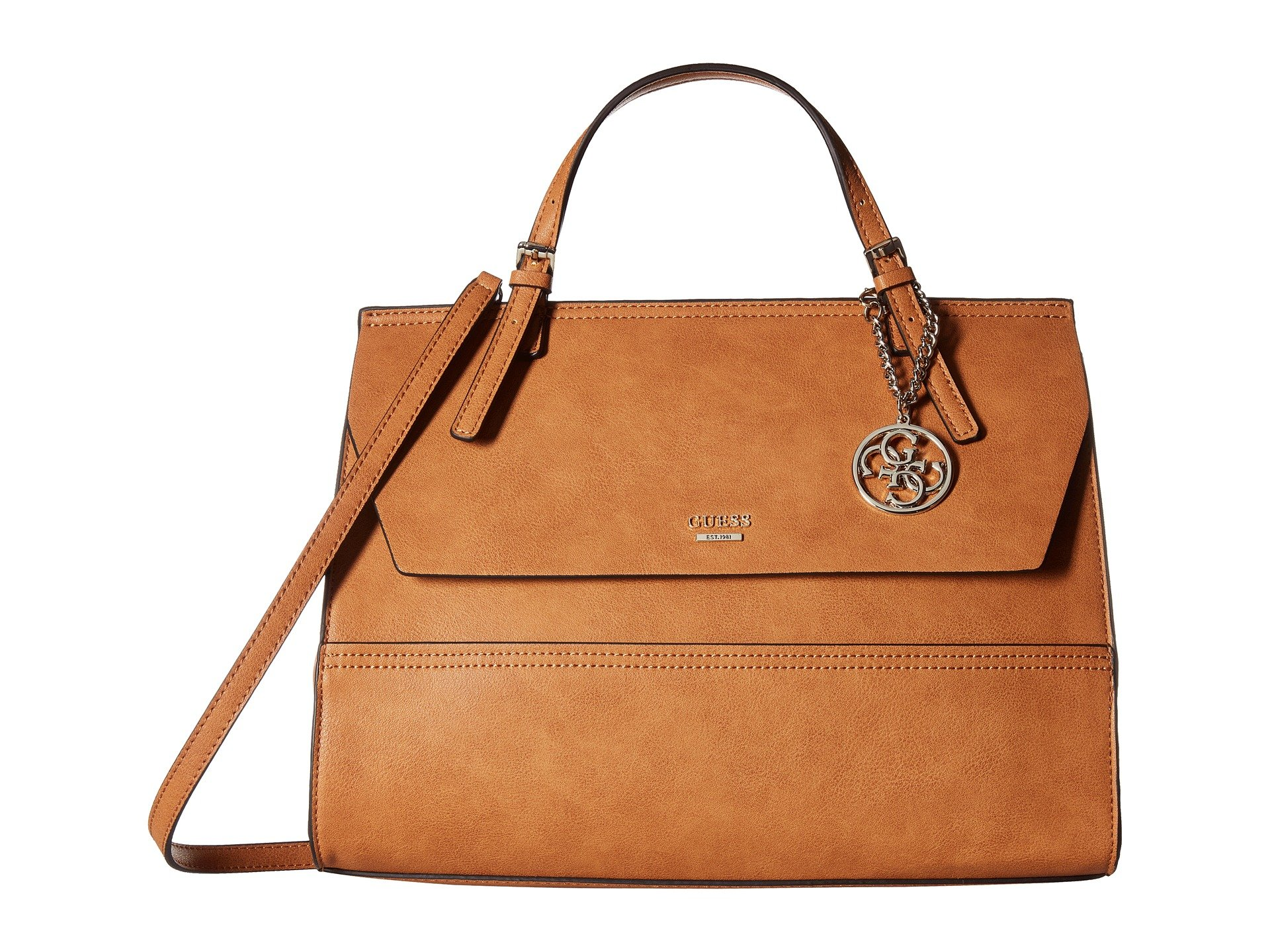 Bolso Cruzado para Mujer GUESS Huntley Top-Handle Flap  + GUESS en VeoyCompro.net