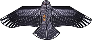 GulfDealz Eagle Bird Kite, for Children and Adults Easy to Ride and Fly Kite Beach Outdoor Toys Games and Activities, Size...