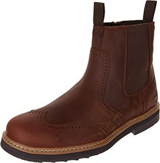 Timberland Squall Canyon WP Wingtip Chelsea Homme Boots Fauve
