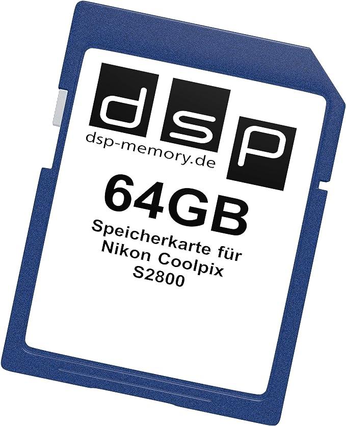 Dsp Memory 16gb Speicherkarte Für Nikon Coolpix S2800 Computer Zubehör