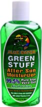 green stuff for sunburn