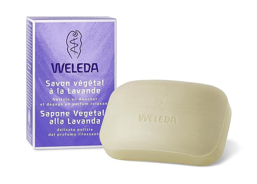 車両ベルベット説教するWELEDA(ヴェレダ) ラベンダー ソープ 100g