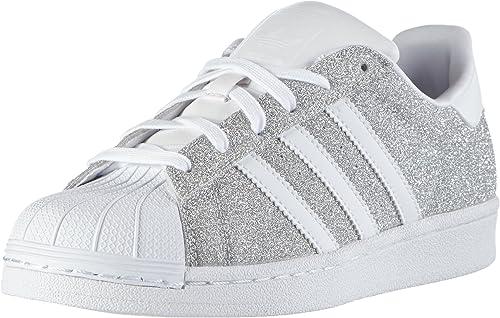adidas Superstar, Baskets Basses Femme, Argent (Silver Met/FTWR ...