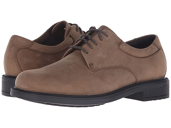 Rockport  Big Bucks Margin (Espresso Nubuck) Mens Dress Flat Shoes