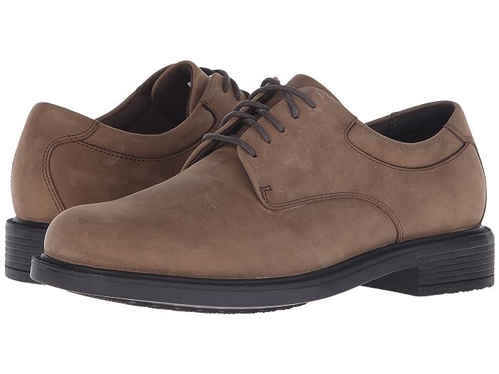 Rockport  Big Bucks Margin (Espresso Nubuck) Mens Dress Flat Shoes