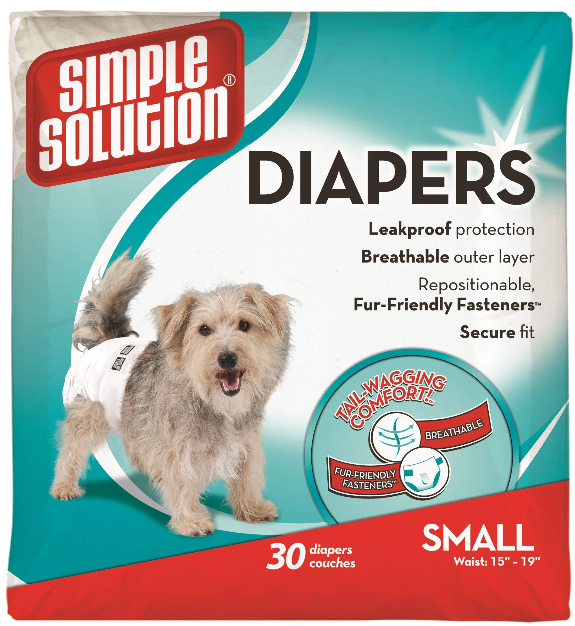 Simple Solution Disposable Absorbent Leak Proof