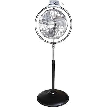 Orbegozo PWS2045 Ventilador industrial de pie, 130 W, Negro y plateado: Amazon.es: Hogar