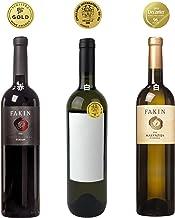 【金賞受賞】高級3種飲み比べワインセット – 辛口赤ワインx1本 辛口白ワインx2本 ― ヨーロッパクロアチアワインテイスティングギフトセット Croatian Red White Wine Award Winning Tasting Set ポシップ Posip | テラン Teran | マルヴァジヤ Malvazija 750ml