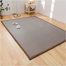 Bamboo Rug Runner, Indoor Hallway Kitchen Entrance Carpet Mat, Summer Heat Insulate Floor Pad, Soft Yoga Mat, 4 Colors, Cu...