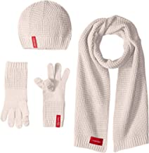 Best pink gloves and scarf set Reviews