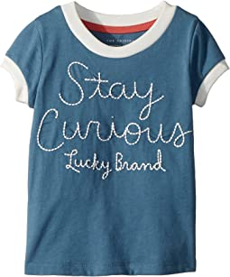 Lucky Brand Kids Jasmeen Tee (Toddler)