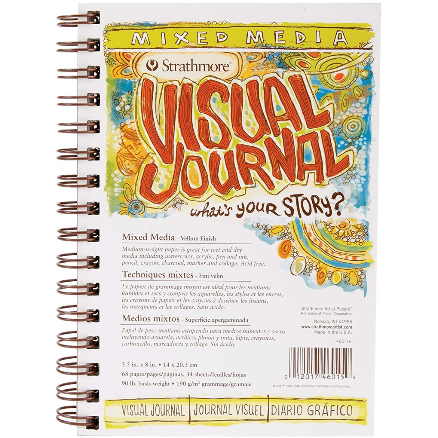 Strathmore 500 Series Visual Mixed Media Journal, 5.5