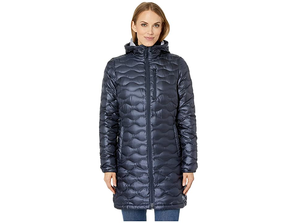 Mountain Hardwear Nitrous Hooded Down Parka (Dark Zinc) Women