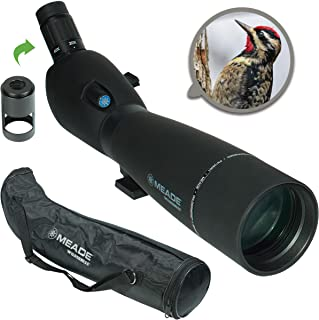 Meade Instruments 126001 Wilderness 20-60 x 80 mm Spotting Scope - Black
