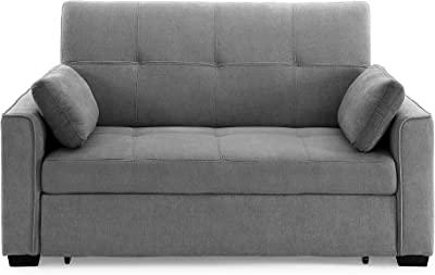 Night & Day Furniture Nantucket Full Light Grey Sofa Sleeper