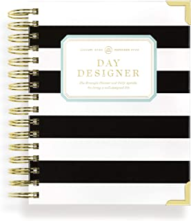 Day Designer 2020 Mini Daily Life Planner and Agenda, Hardcover, Twin-Wire Binding, 6.625