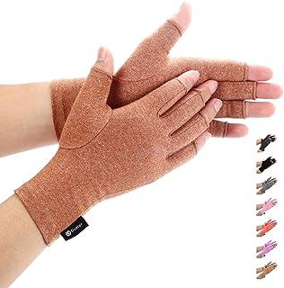 Duerer Guanti Comprimenti per Artrite Donna Uomo per RSI, Tunnel carpale, Reumatoide, Tendinite, Guanti a Compressione con...