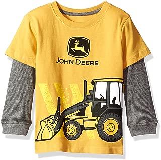 John Deere Baby Boys' 2 for Tee-Yellow