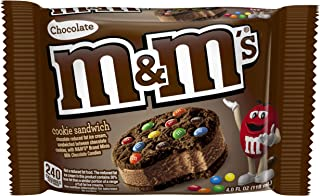 M&M'S Ice Cream Choc Cookie Sandwich Single (24 Count)
