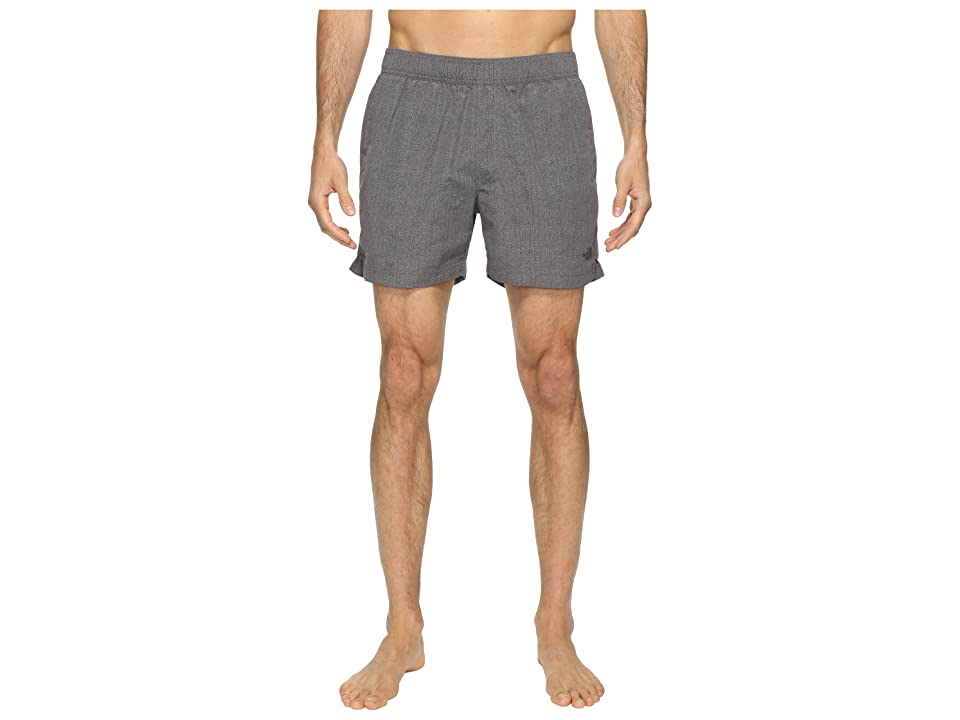 The North Face Class V Pull-On Trunk Short (Zinc Grey Linen Print (Prior Season)) Men