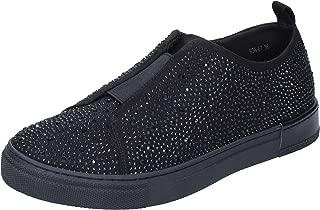 Francesco Milano Loafer Flats Womens Black