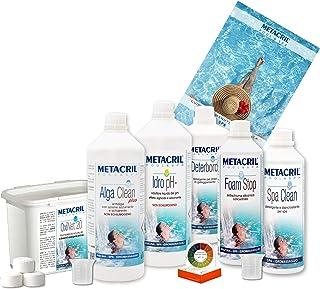 Metacril - Kit para spa e hidromasaje con oxígeno activo - Kit OXI Spa - Ideal para piscina o hidromasaje (Teuco, Jacuzzi, Dimhora, Intex,Bestway,ECC.) Envío inmediato.