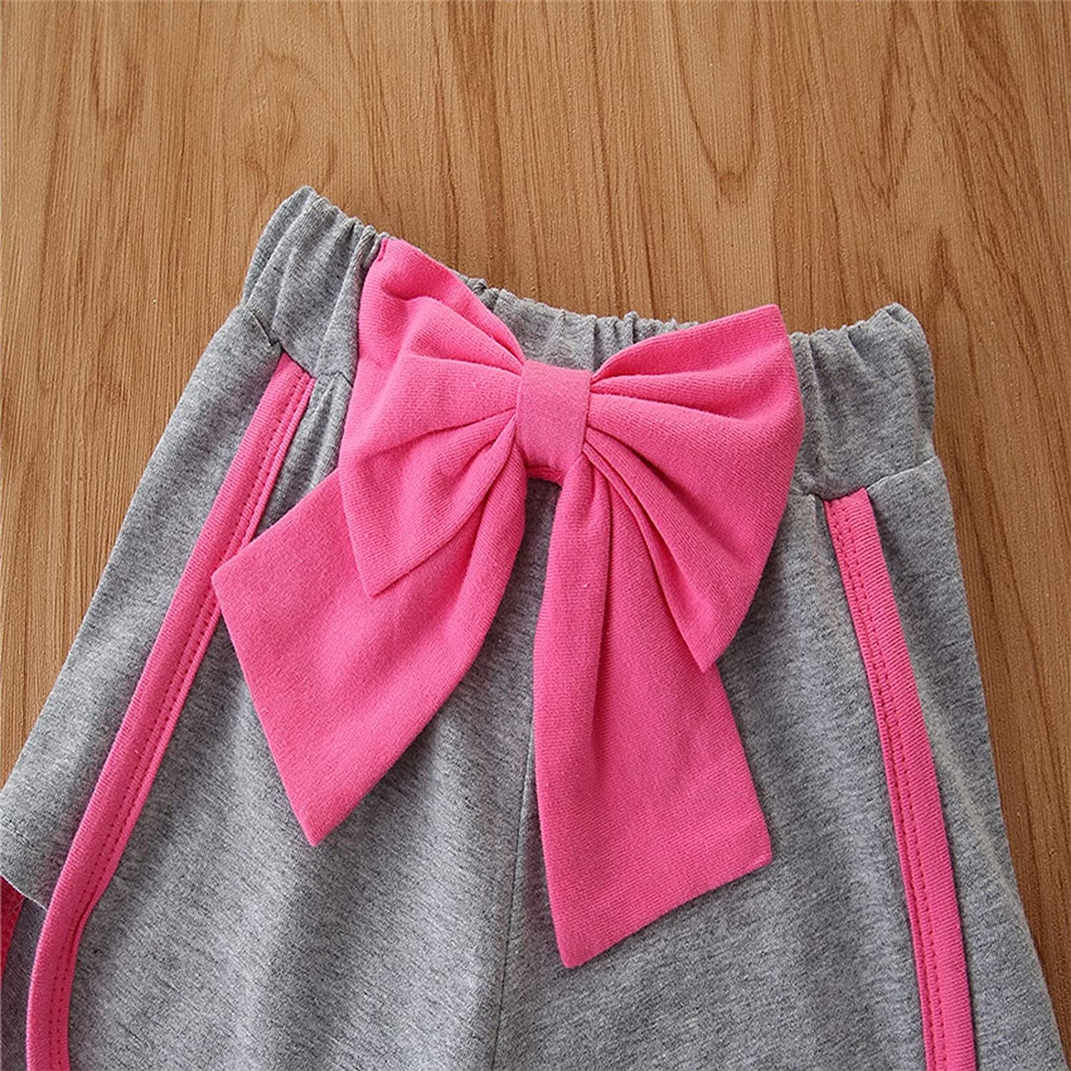 Specialtyliu Toddler Baby Girl Clothes Vest Tank Top Sleeveless Short Set Sumumer Outfit 2Pcs