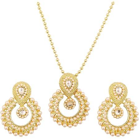 Designer Emerald CZ Rhodium Plated Silver Jewelry Set-Lovely Piece Of Jewelry Set-Birthstone Jewelry Earring Pendant Set-DTS-1003