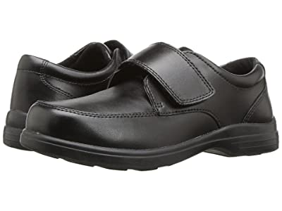 Hush Puppies Kids Gavin (Toddler/Little Kid) (Black Leather) Boy