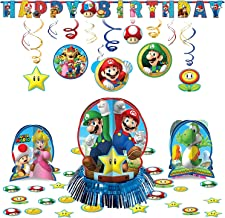 Amscan Super Mario Decoration Pack Kit