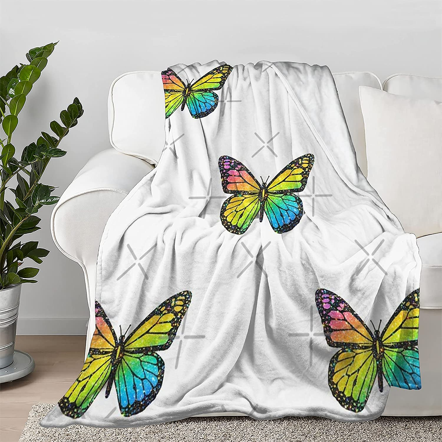 Lokapala Butterfly Recommended Set Throw Blanket Ranking TOP20 Bedspread Ult Quilt Flannel