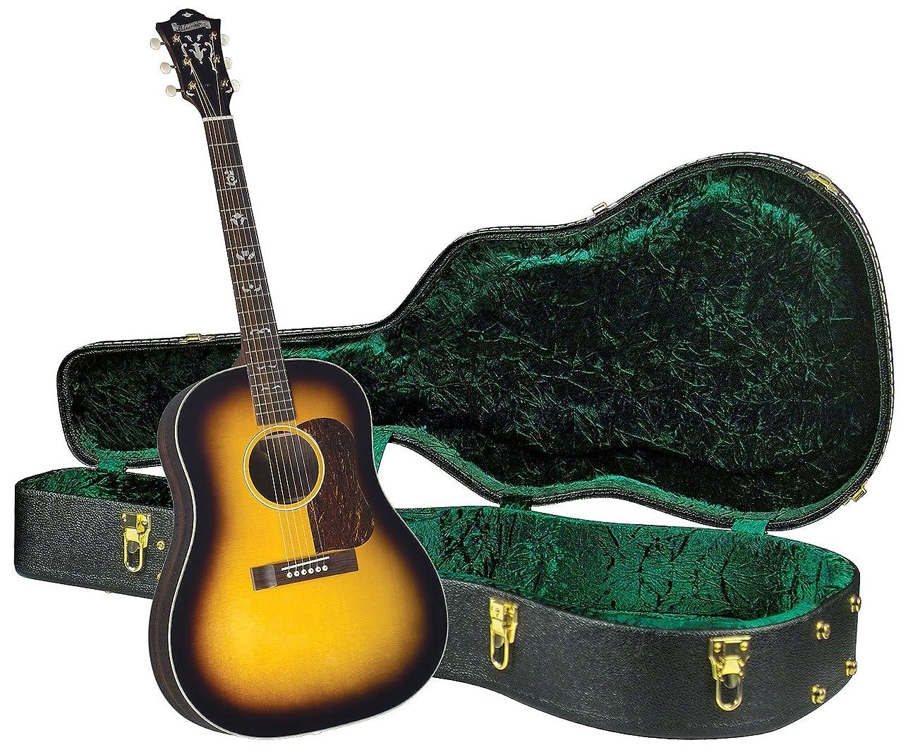 貢献ダブル補助金Blueridge BG-160 現代シリーズ スロープ ショルダー ドレッドノート アコースティックギター ビンテージ サンバースト。 BG-160BUN1