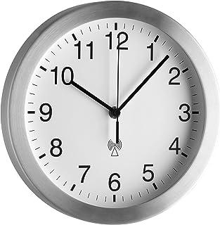 TFA Dostmann Horloge Murale Gris Claire