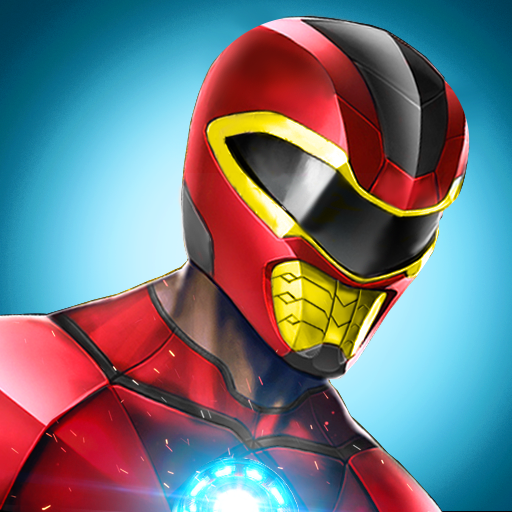 Power Robot Rangers Jeu de Mission de Combat 3d: Transformer le futur Robot Legacy Wars Vegas Crime Gangster City Simulator Adventure