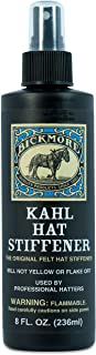 Kahl Hat Stiffener - Great for Fabric & Felt Hat Brims - Will Not Affect Tone, Texture, or Color