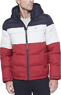 Tommy Hilfiger Men's Classic Hooded Puffer Jacket...